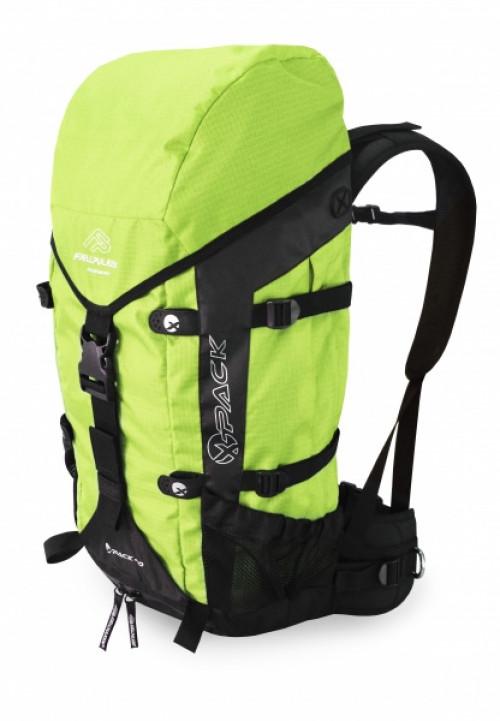 Fjellpulken X-Pack Tursekk 40 Liter Med Selesystem Og Barnebelte Grønn
