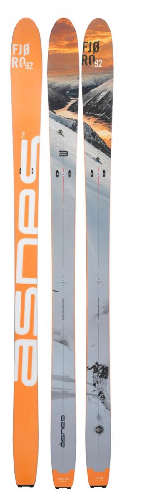 Åsnes Fjøro 92 Orange