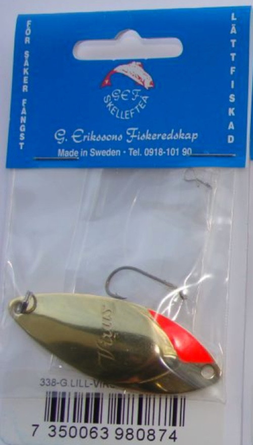 G.Erikssons Fiskeredskap Lill-Virus 10g 57mm