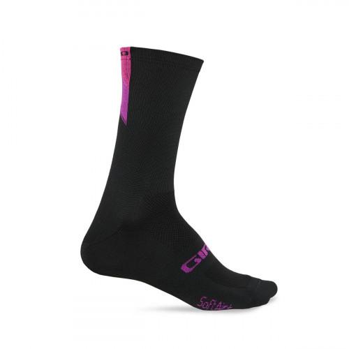 Giro Sokk Comp Racer Lang Pink/Berry/Black