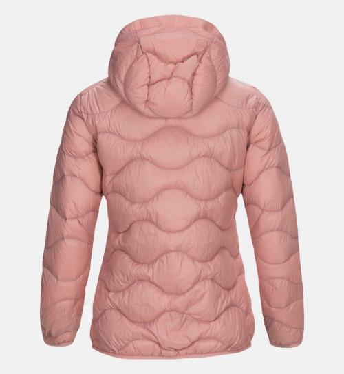 Peak Performance Women Helium Hood Jacket Warm Blush