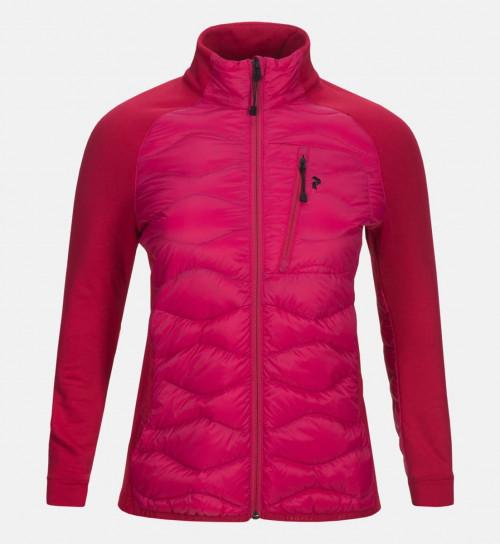 Peak Performance Womens Helium Hybrid Jacket Fusion Pink