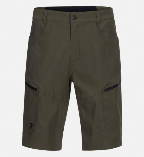 Peak Performance Iconiq Cargo Shorts Terrain Green