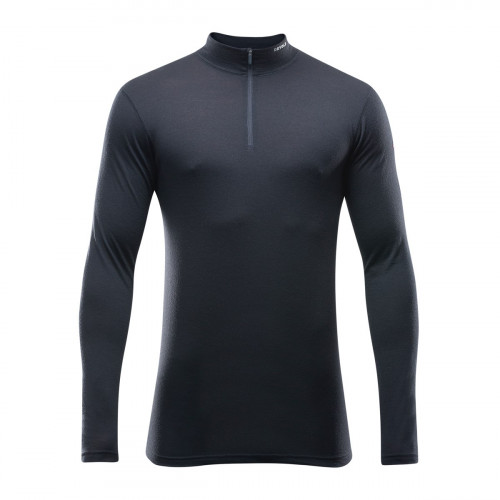 Devold Breeze Man Half Zip Neck Black