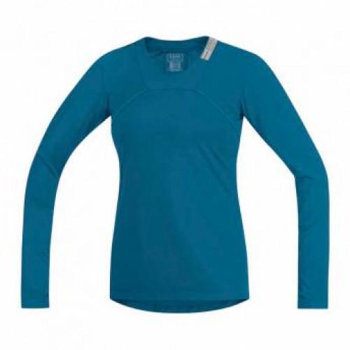 Gore Running Wear® Air Lady Shirt Long Ink Blue