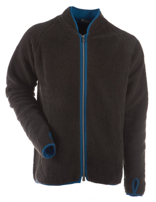 Gridarmor Bamsefleece 1/1 Zipper Charcoal Grey