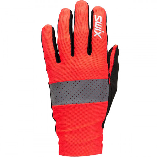 Swix Radiant Glove Neon Red