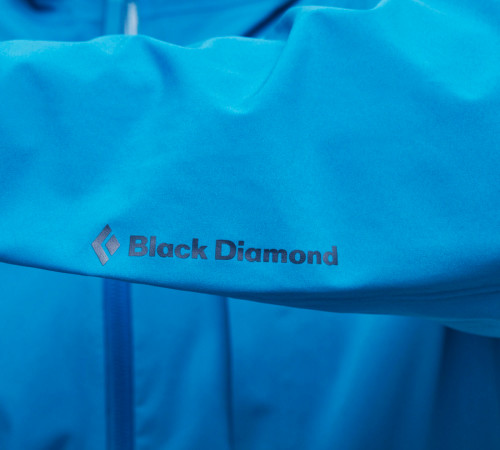 Black Diamond M Fineline Stretch Rain Shell Astral Blue