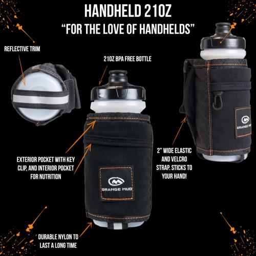 Orange Mud Handheld, 21 Oz Black