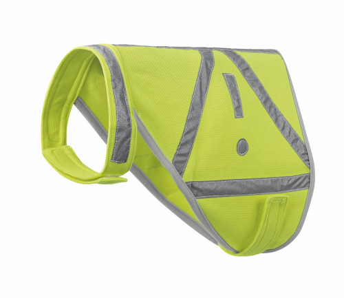 Hunter Waist Coat For Dogs Reflective Yellow M