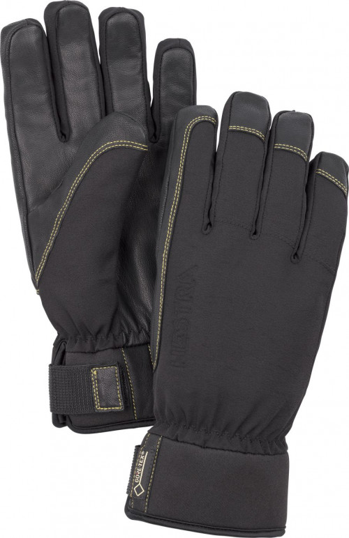 Hestra Alpine Short Gore-Tex - 5 Finger Svart