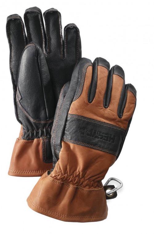 Hestra Fält Guide Glove - 5 Finger Brun/Svart