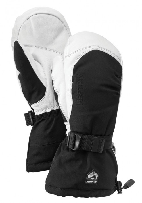 Hestra Army Leather Extreme - Mitt Svart/Offwhite
