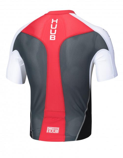 Huub Dave Scott Long Course Top Black/ Red
