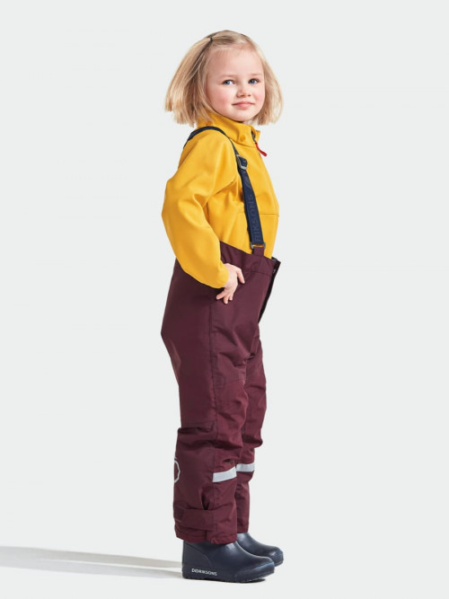Didriksons Idre Kids Pants 4 Plum