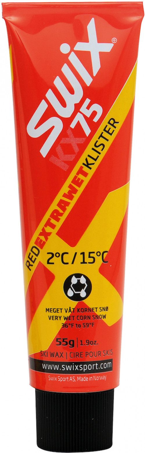 Swix KX75 Red Extra Wet Klister 2c/15c