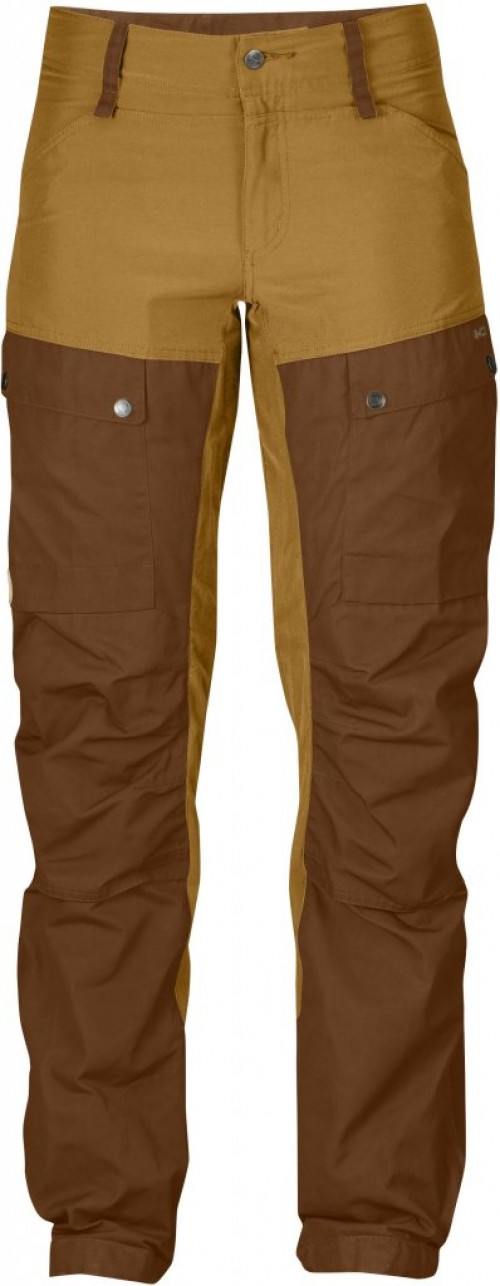 Fjällräven Keb Trousers Curved Women's Chestnut Acorn