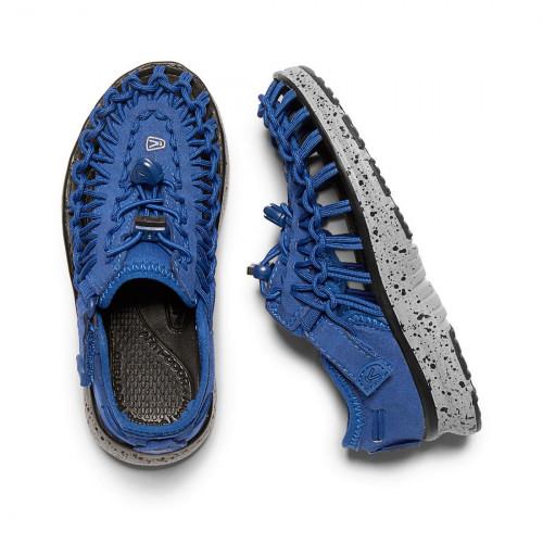 Keen Kid's Uneek O2 True Blue/Neutral Gray