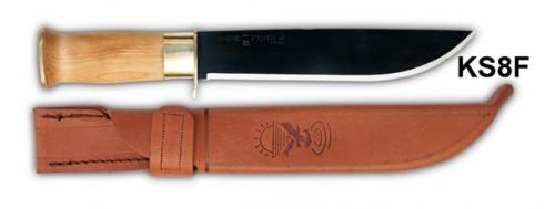 Knivsmed Strømeng Samekniv 8'' M/Fingervern
