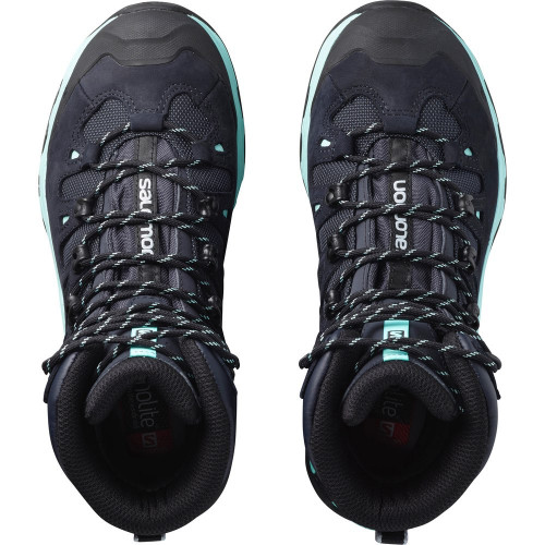 Salomon Shoes Quest 4d 3 Gtx® W Lead/Stormy Weather/Bird Of Paradis
