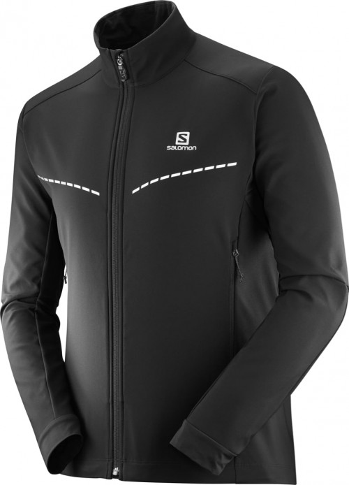 Salomon Agile Softshell Jacket Men's Black