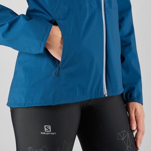 Salomon Lightning WP Jacket Women's Poseidon