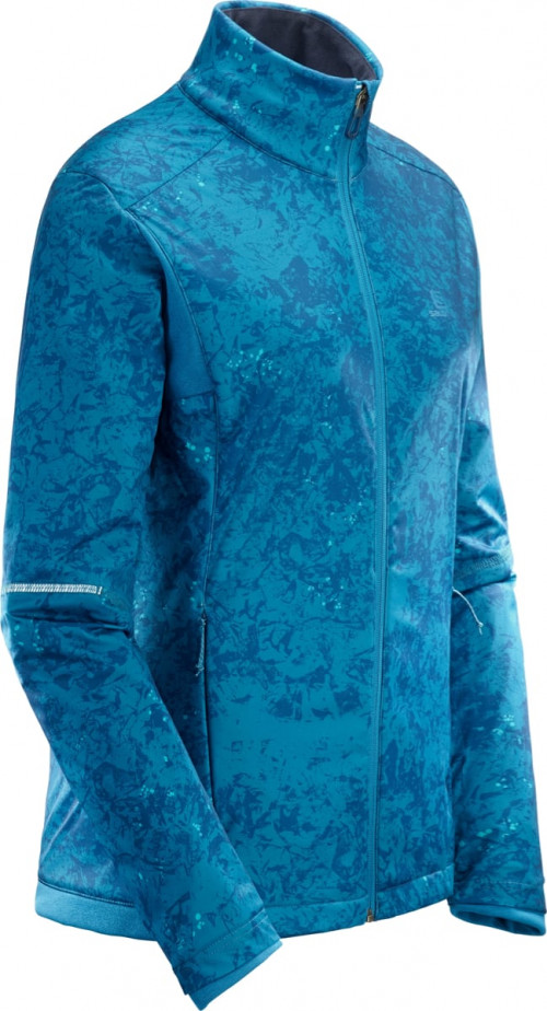 Salomon Agile Warm Jacket Lyons Blue