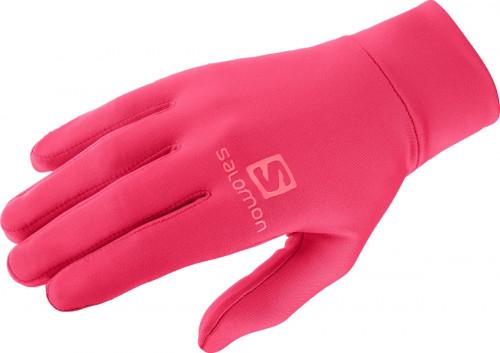 Salomon Agile Warm Glove Unisex Teaberry