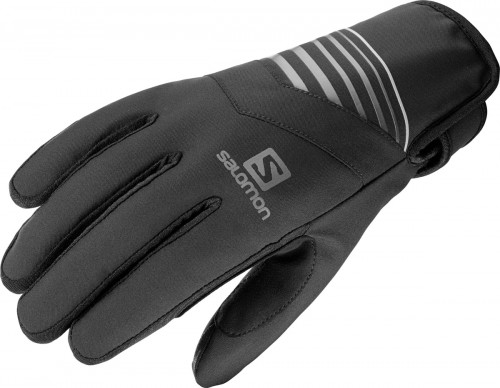 Salomon Rs Warm Glove U Black/Black/Charcoal.