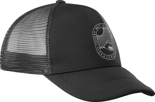 Salomon Summer Logo Cap M Black/Black