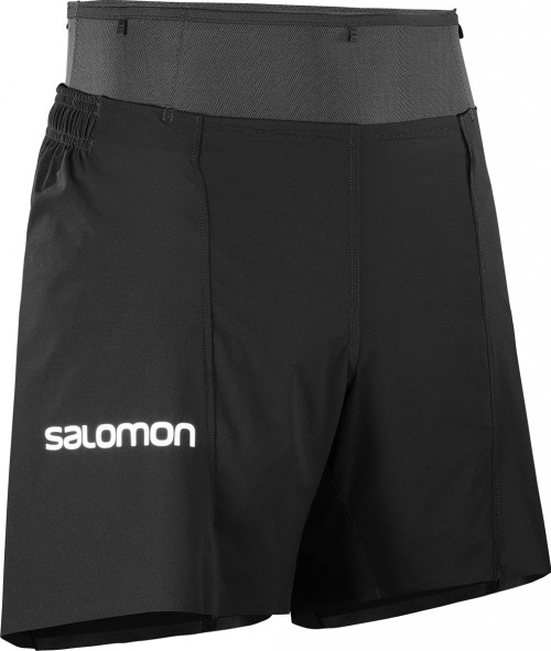 Salomon S/Lab Sense Short 6\'\' Mens Black