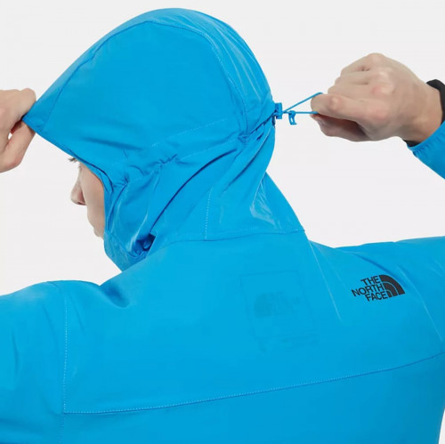 The North Face Men North Dome 2 Stretch Wind Jacket Clear Lake Blue