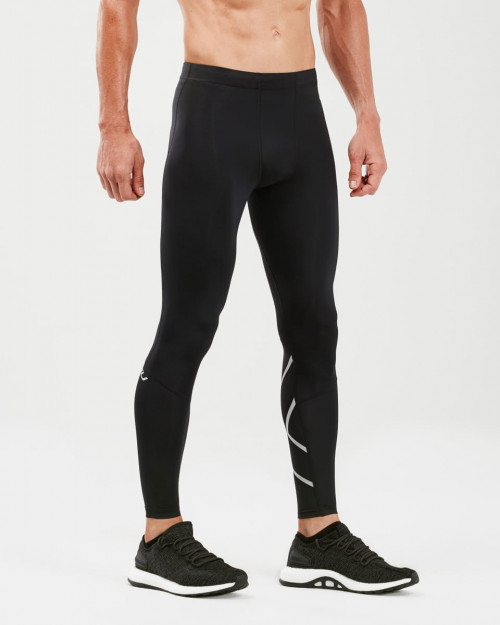 2XU Run Comp Tights With Storage Men Black/Silver Reflective