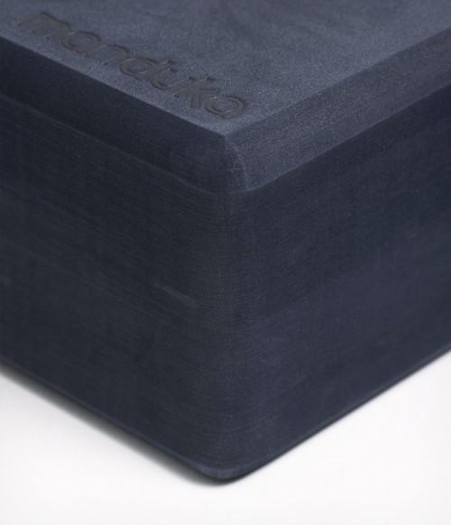 Manduka Recycled Foam Yoga Block Midnight