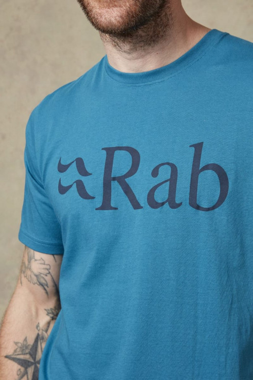 Rab Stance Logo SS Tee Silverpine