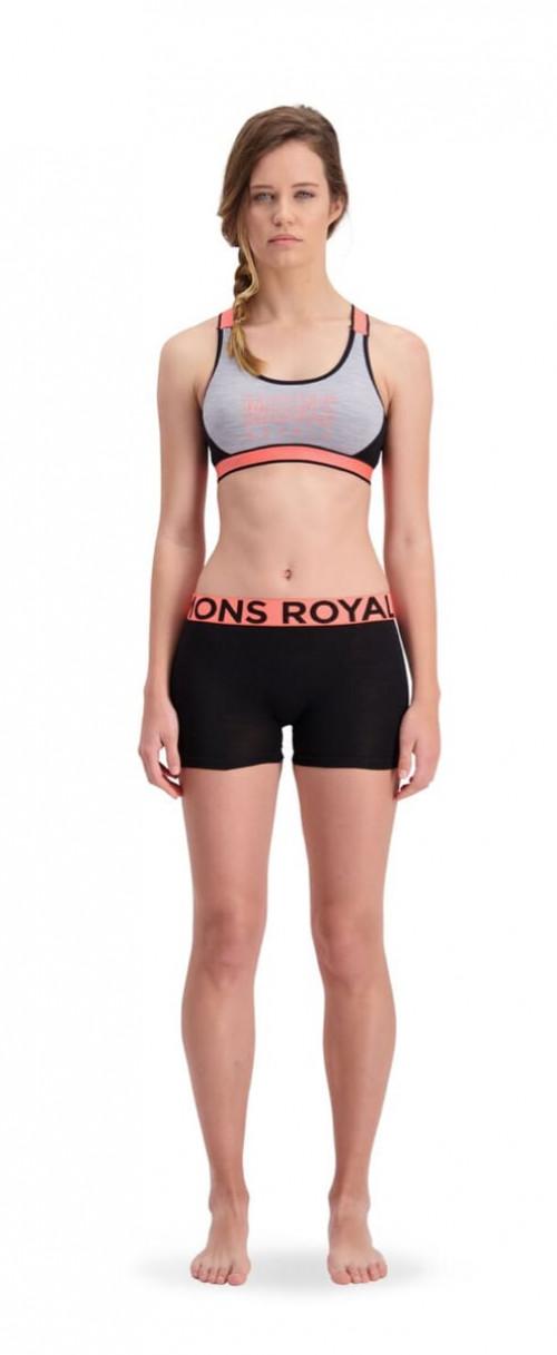 Mons Royale W Hannah Hot Pant Black