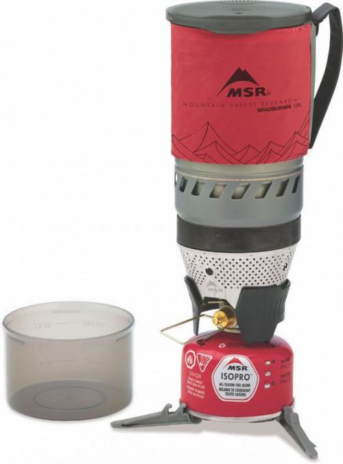 MSR Windburner 1.0l Personal Stove Red 1L