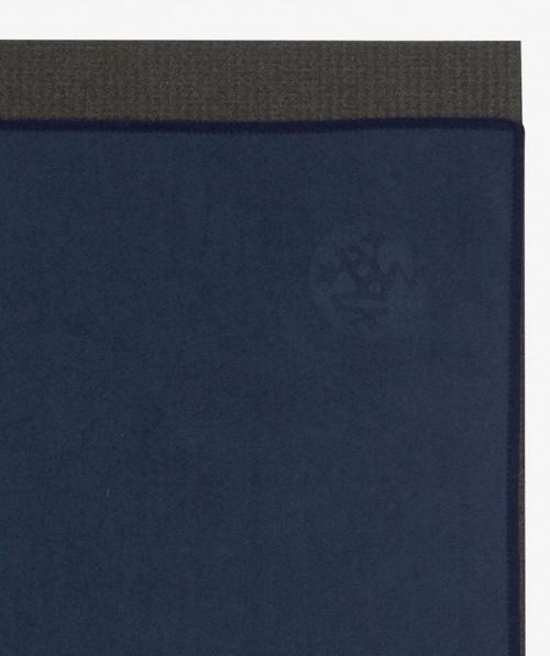 Manduka Equa Yoga Hand Towel Midnight 40cm