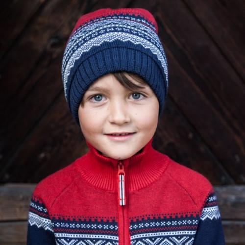 Marius Kids Ull Lue Navy
