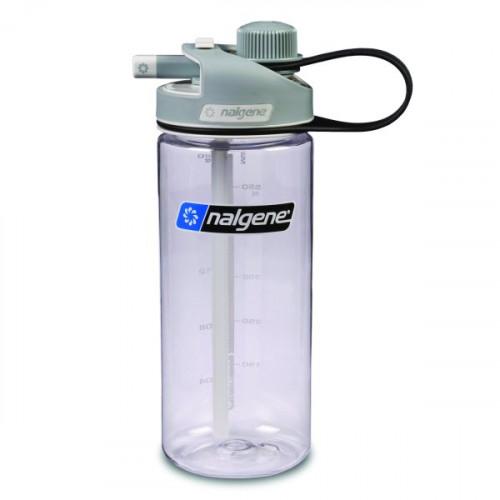 Nalgene Multidrink Clear W/Gray Cap 0,65 L