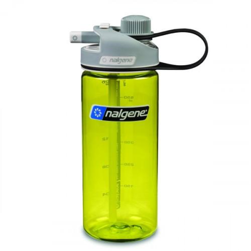 Nalgene Multidrink Green W/Gray Cap