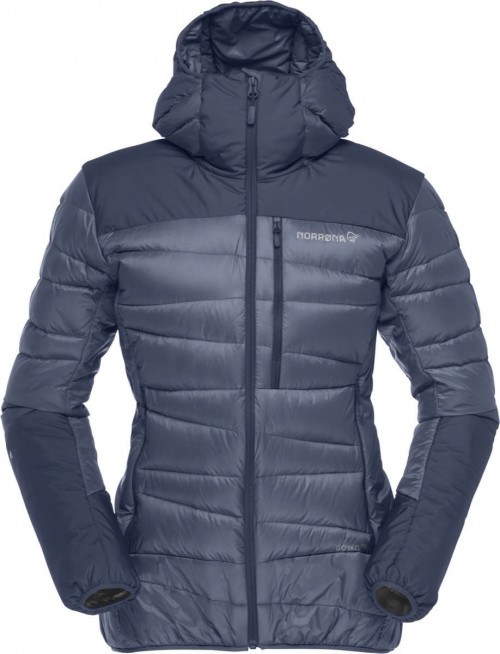 Norrøna Falketind Down750 Hood Jacket Women's Indigo Night
