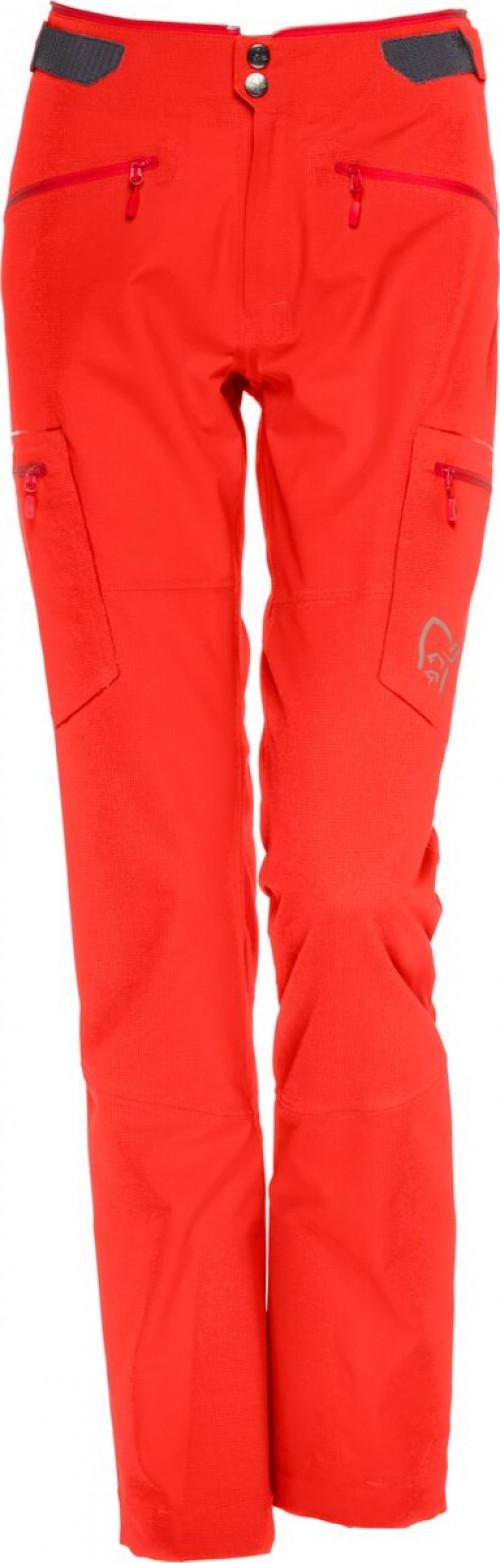 Norrøna Trollveggen Flex1 Pants (W) Crimson Kick