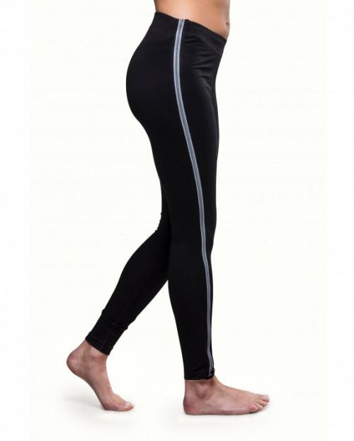Northern Playground Women's Ziplongs Long Wool Black