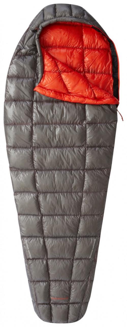 Mountain Hardwear Ghost Whisperer 40f/4c Sleeping Bag - Regular Manta Grey