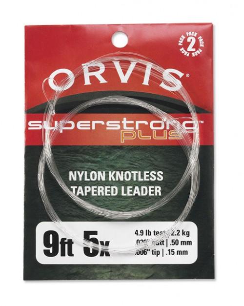 Orvis Super Strong Fortom 9' 2 Pakk Klar