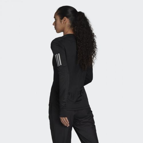 Adidas OWN THE RUN LS Tee W Black