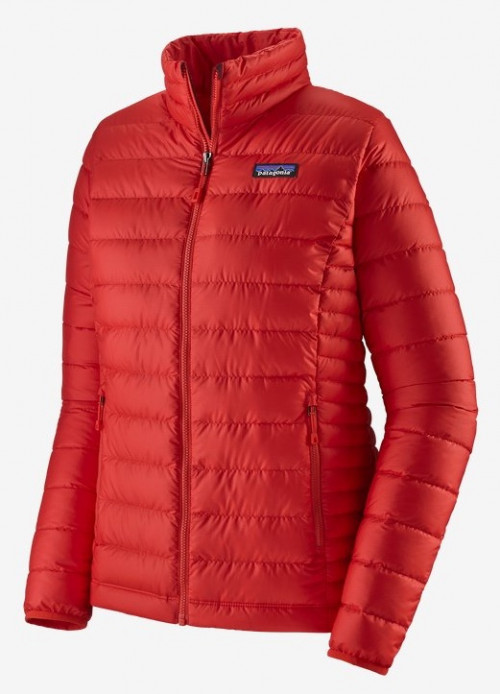 Patagonia W Down Sweater Catalan Coral W/Catalan Coral