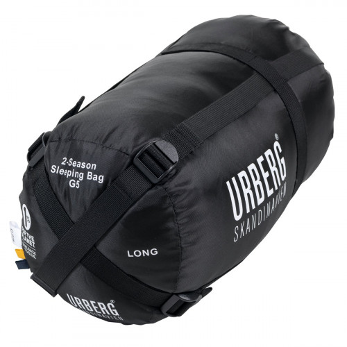 Urberg 2-Season Sleeping Bag G5 Black Iris