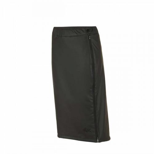 Fåk Appi Padded Pu Skirt Wmn Jet Black
